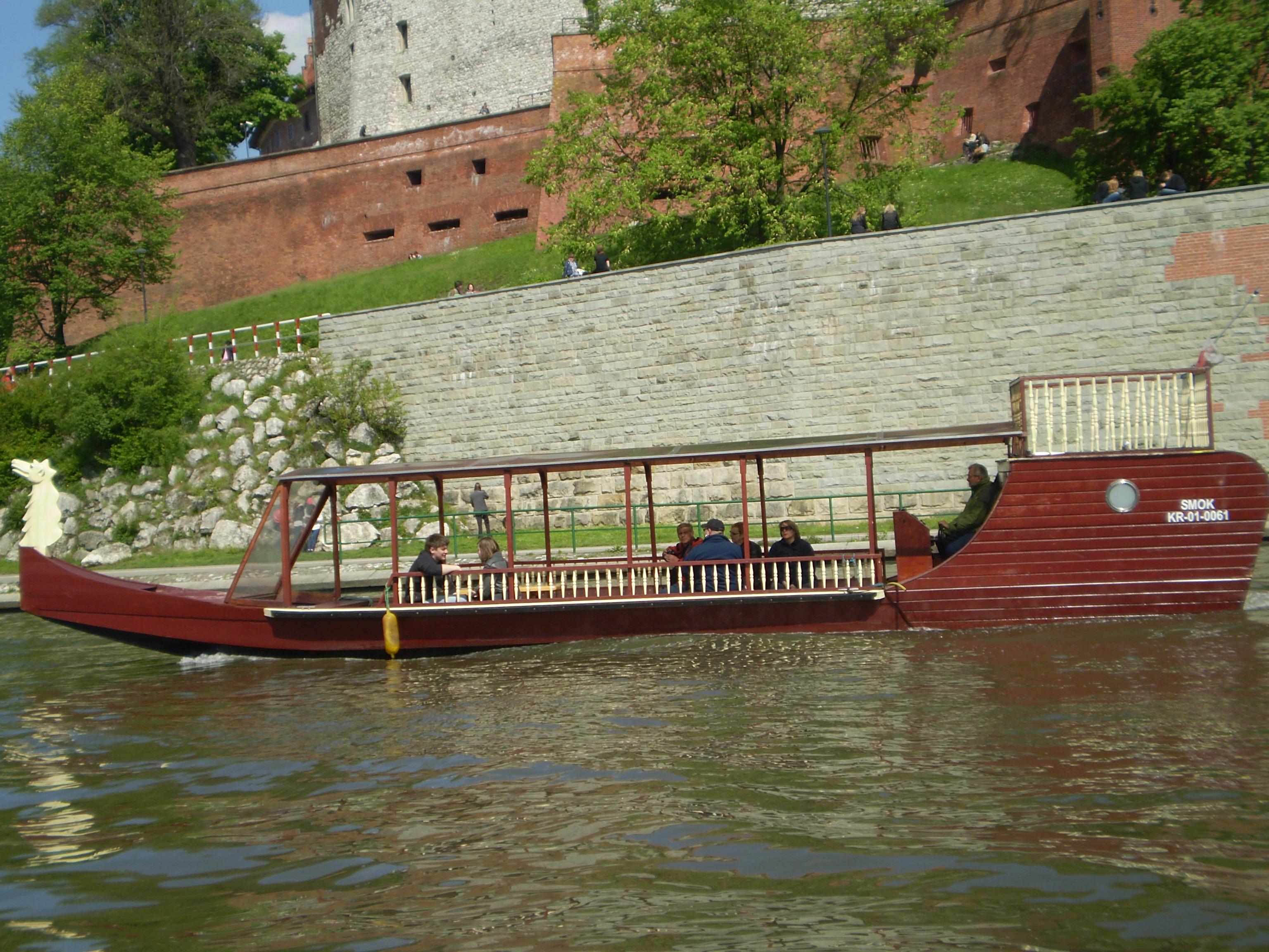 rejs gondolą u stóp Wawelu