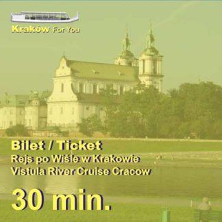 Rejsypo Wiśle Kraków - Bilety 30min