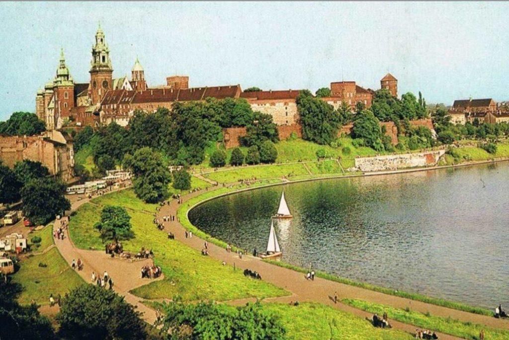 Zakole Wisły pod Wawelem